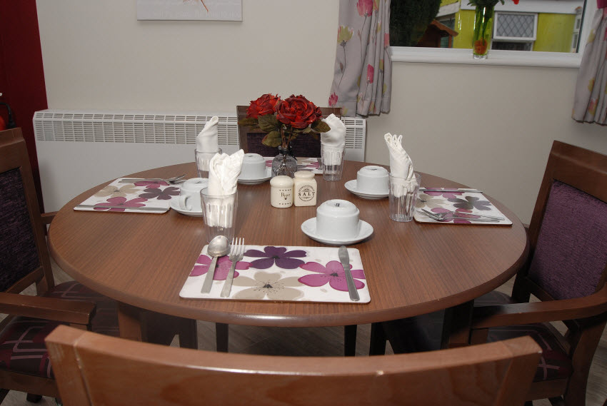 Dining Room Table Gresham Lodge Care Home