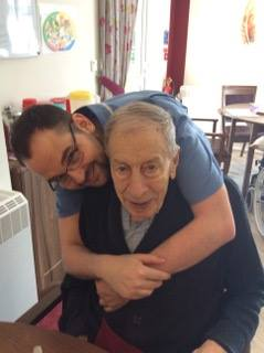 Carer & Resident at Gresham Lodge